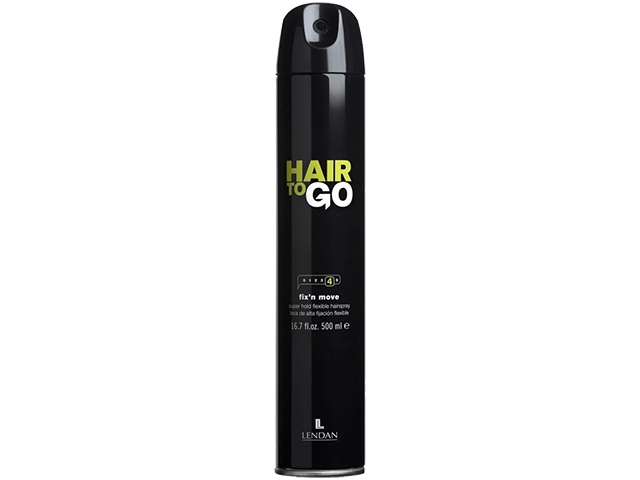 Hair to Go. Fix and Move. Laca flexible. 500 ml