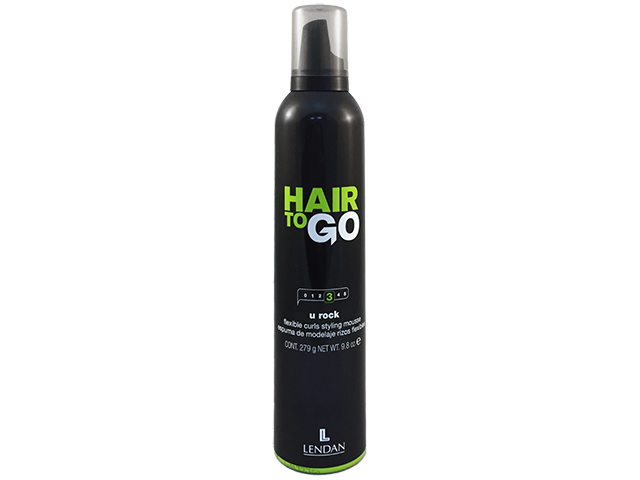 Hair to Go. U Rock. Espuma rizos flexibles 300 ml