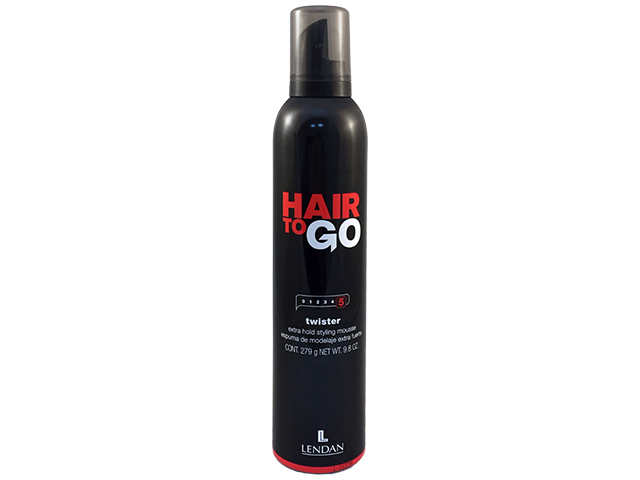 Hair to Go. Twister. Espuma extrafuerte 300 ml