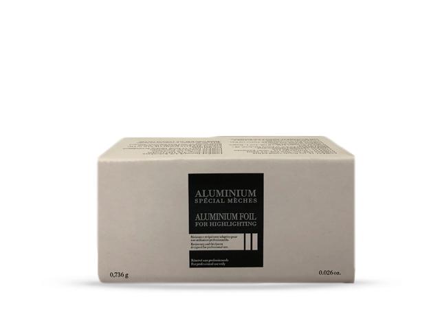 papel aluminio especial mechas 18m