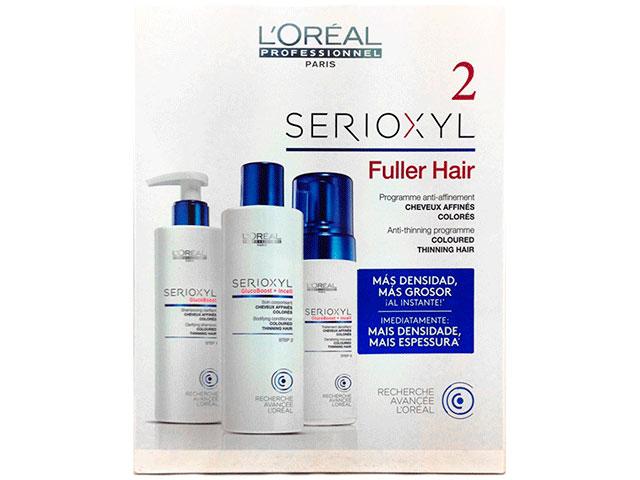 serioxyl fuller hair 2 teñido