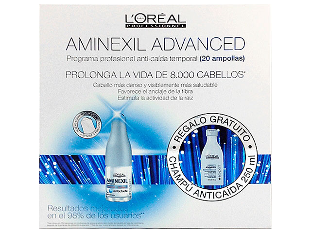 aminexil pack 2*10*6ml+champu