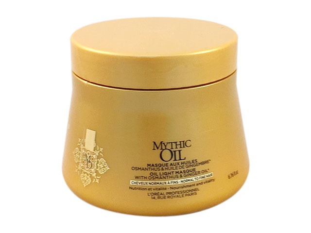 mythic oil new mascarilla cabello normal/fino 200