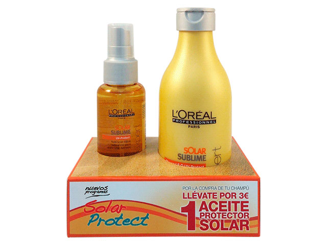 kit solar protect champu + aceite