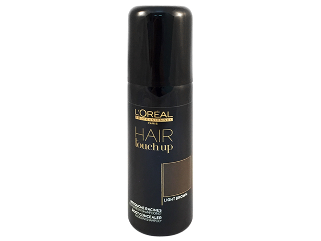 hair touch up light brown(castaño claro)75ml