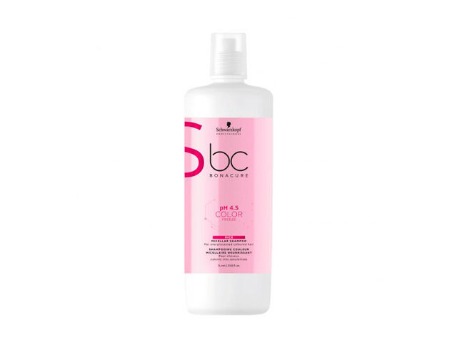 bc ph4.5color freeze champu 1000ml enriquecido(CABELLO COLOREADO O ACLARADO)