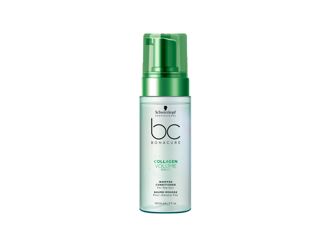 bc collagen volume acondicionador cremoso enESPUMA 150ML(CABELLO NORMAL A FINO)