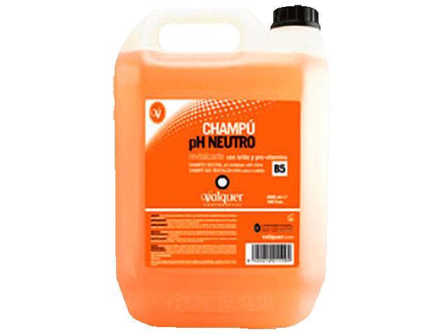garrafa champu ph neutro  5l