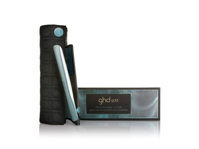 plancha ghd gold glacial blue