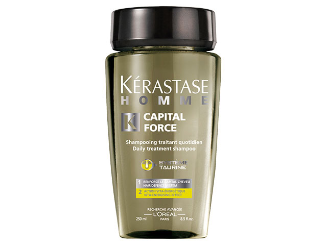 homme capital force bain energizante 250ml