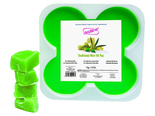 depileve cera tradicional aceite oliva1kg