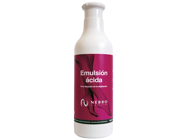 emulsion acida nebro