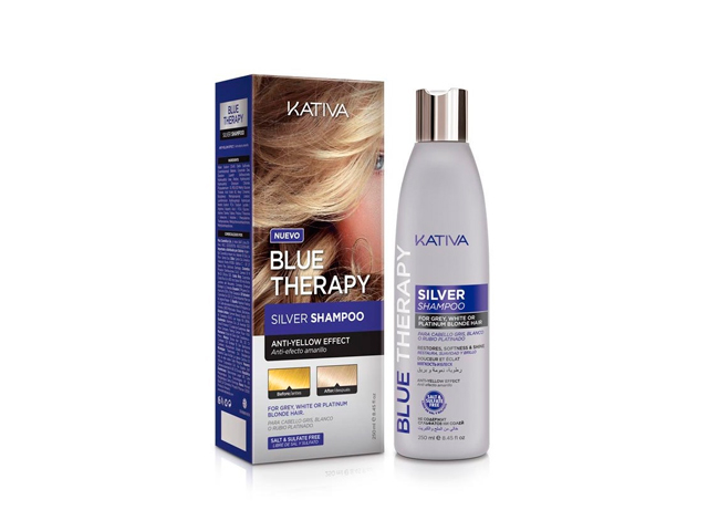 kativa blue therapy shampoo 250 ml