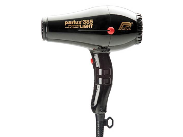 secador parlux 385light negro