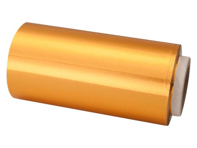 rollo papel aluminio 13 cm dorado