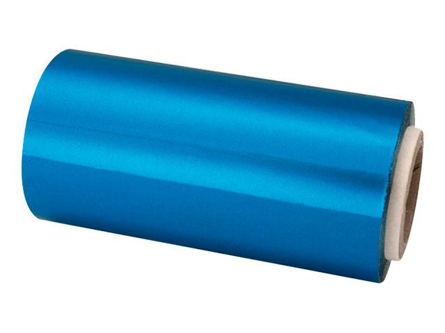 rollo papel aluminio 13 cm azul