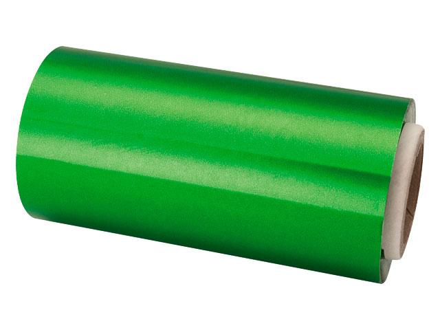 rollo papel aluminio 13 cm verde
