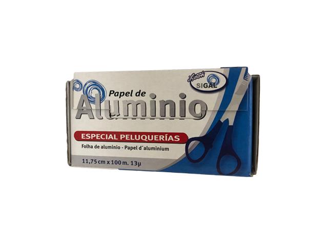 aluminio peluqueria liso 100m 117.5mm