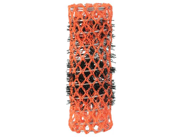 rulos malla naranja 22mm *6 unidades