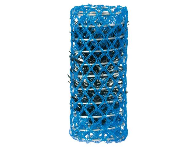 rulos malla azul 28mm bolsa 6