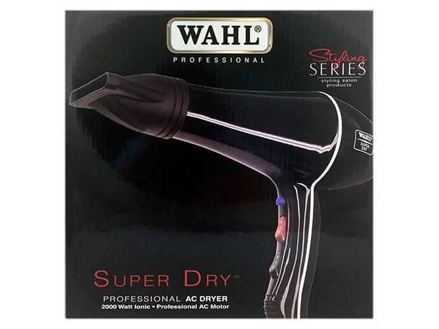 secador wahl superdry negro 2000w