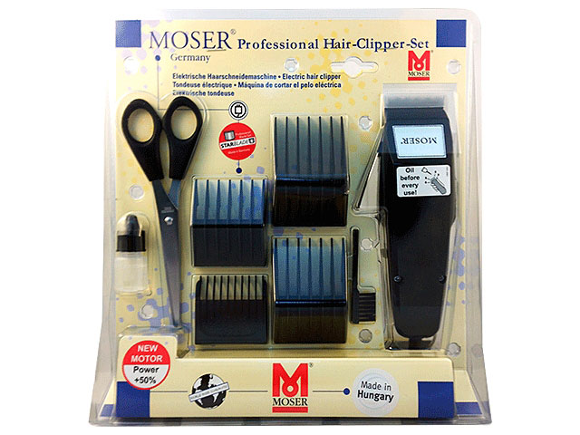 MAQUINA MOSER 1400 BLISTERNEGRA