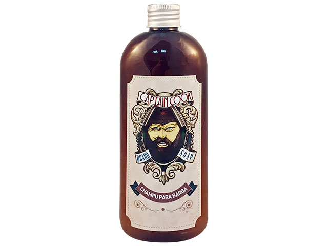 champu para barba 250ml captain