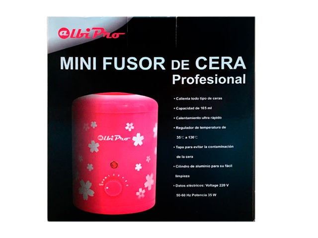 mini fusor flower 165ml +regalo kilo cera nebro