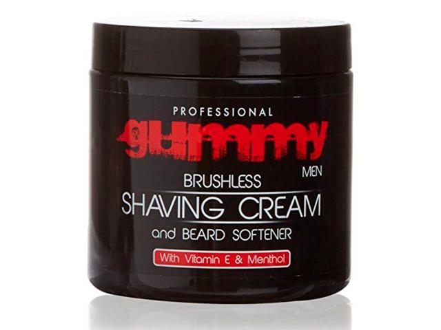 gummy crema afeitado vitamina e y mentol 500 ml