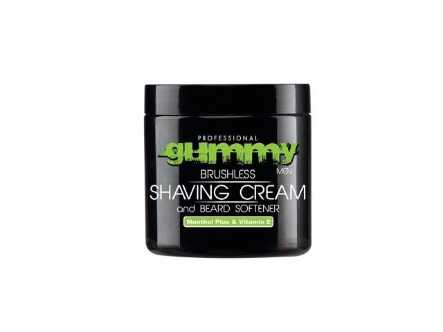 gummy crema afeitado vitamina e y mentol plus 500