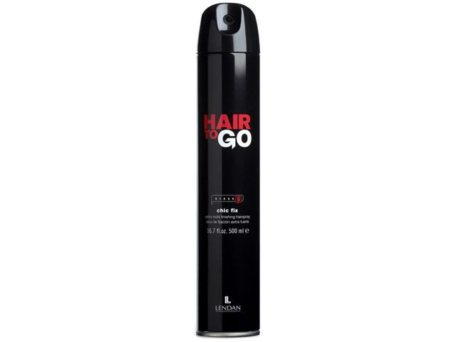 Hair to Go. Chic Fix. Laca extrafuerte. 500 ml