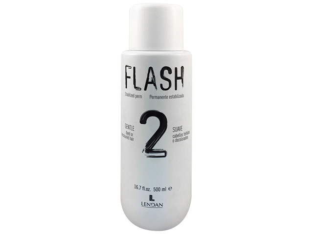Flash 2. Permanente estabilizada suave. 500 ml