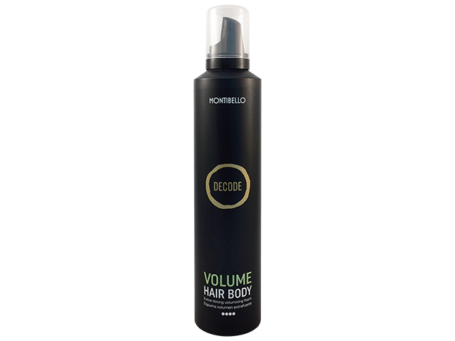decode volume hair body 300ml(espuma extra fuerte)