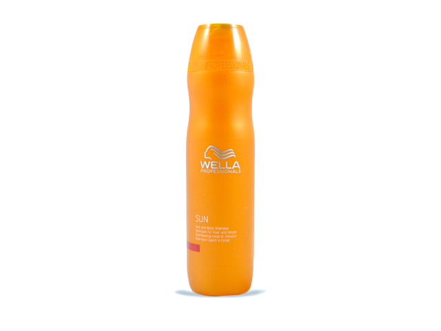 outlet20 wella sun champu hair/body 250ml