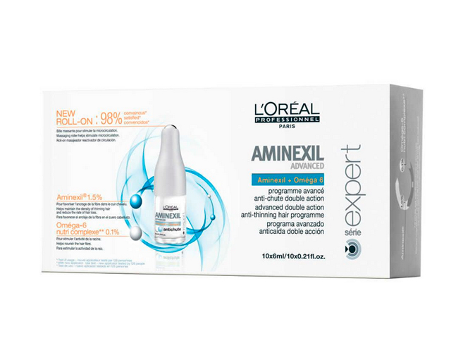 aminexil advanced 10*6ml 2018