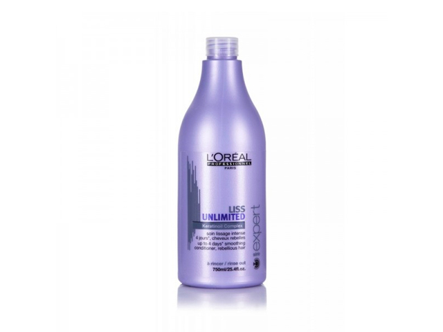 liss unlimited acondicionador 750ml
