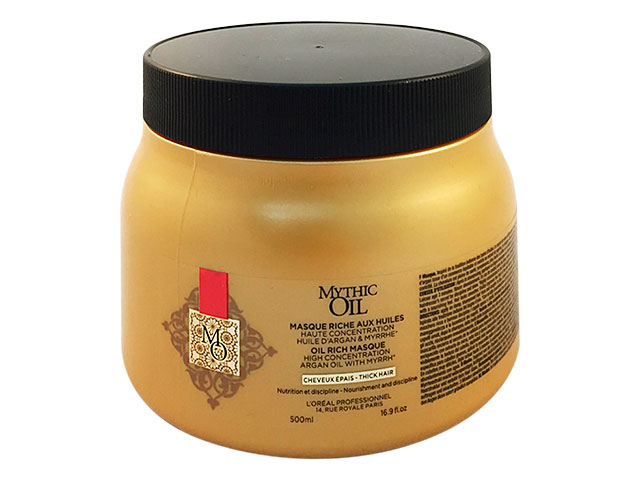mythic oil new mascarilla cabello grueso 500ml