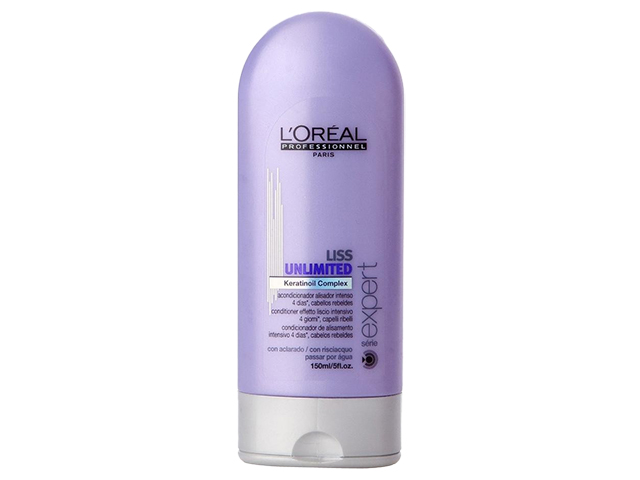 liss unlimited acondicionador alisador intenso 150 ml
