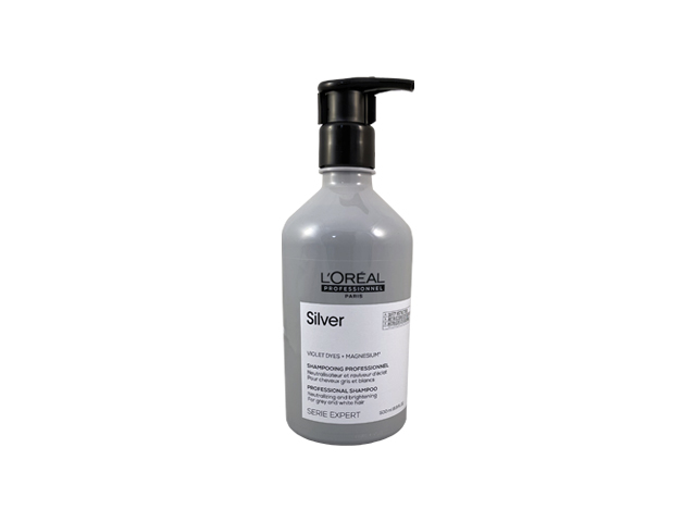 Silver champú Loreal 500 ml