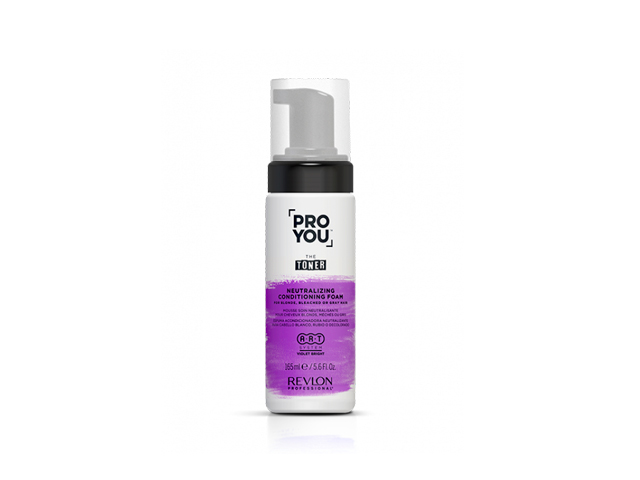 proyou new the toner foam 165 ml espuma acondicGRISES,RUBIOS Y DECOLORADOS )