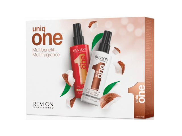 pack uniq one classic 150ml+ coconut 150ml