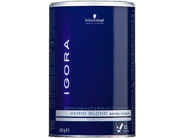 IGORA VARIO BLOND PLUS BLUE450ML
