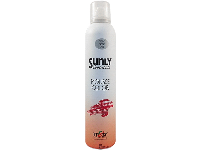 SUNLY MOUSSE PLATA 250ML