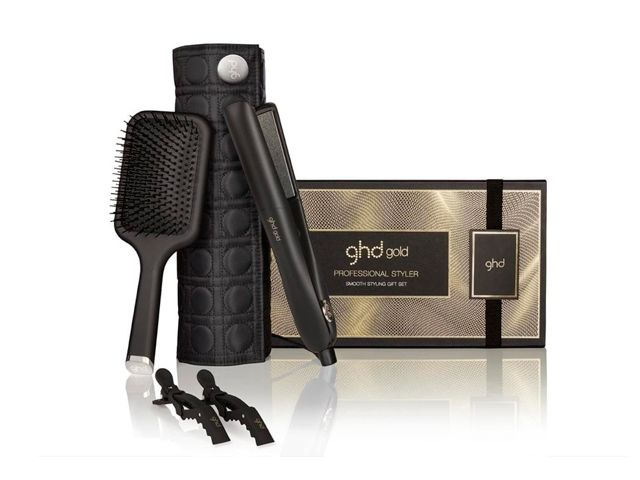 plancha ghd gold gift set