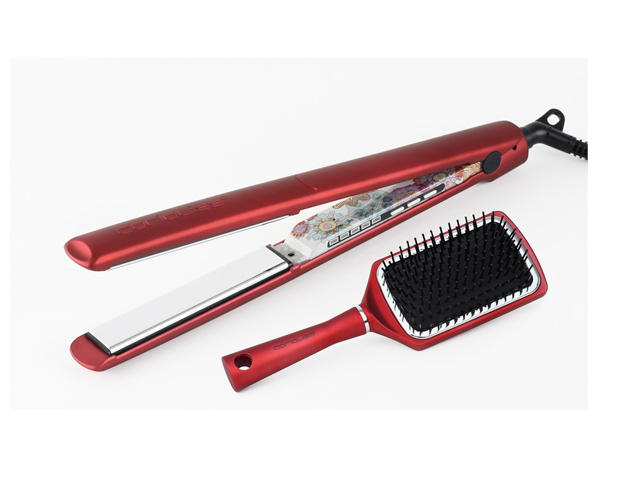plancha c3 ethnic metallic red gift pack