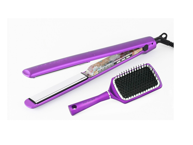 plancha c3 ethnic metallic purple gift pack
