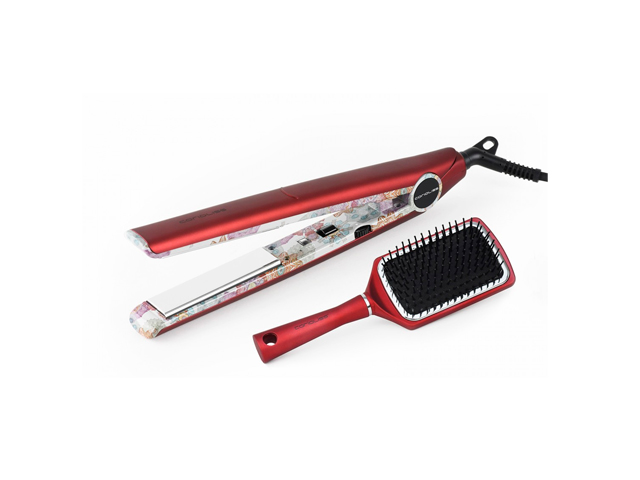 plancha c1 ethnic metallic red gift pack
