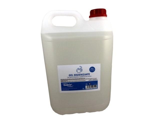seir gel hidroalcoholico 70% 5 l.