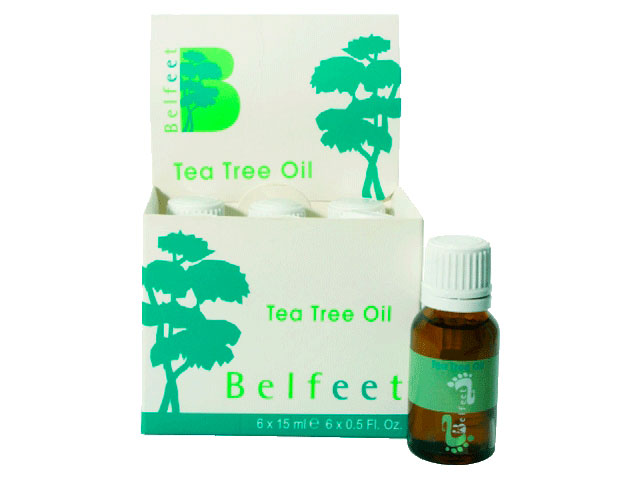 BELFEET TEA TREE OIL CAJA*6