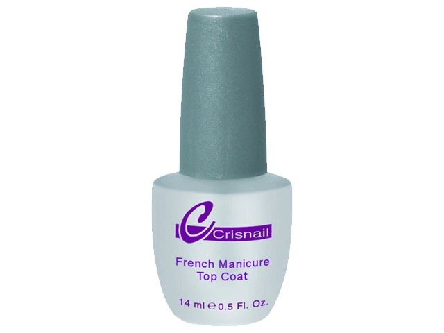 cnl french manic.top coat 14ml